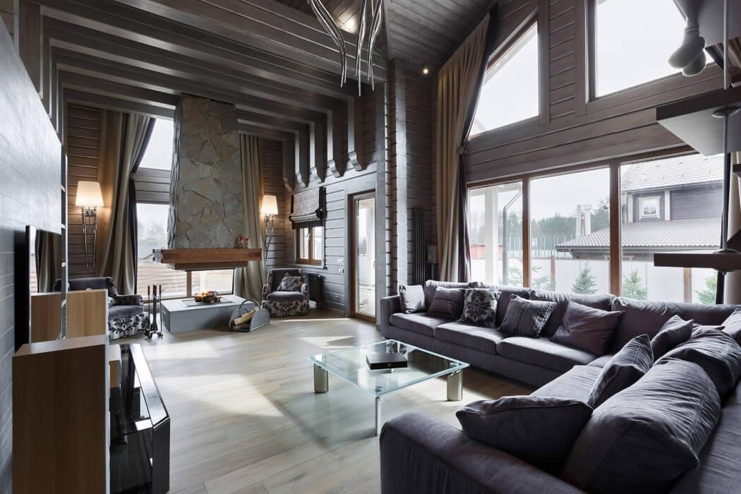 Arsitektur-Interior-Rumah-Mewah-dengan-Gaya-Rustic1