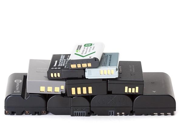 Batteries CAMERA